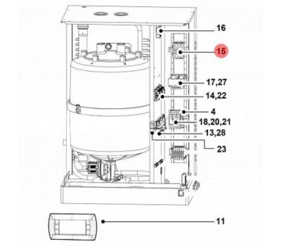 CAREL UEKCONT500 Электромагнитный пускатель CAREL