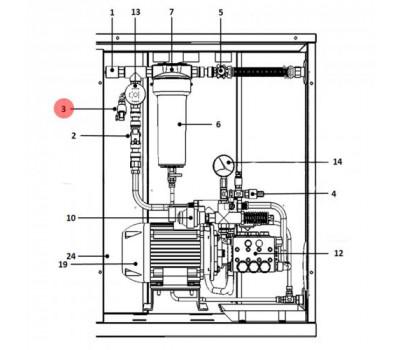 CAREL 1309654AXX Реле минимального давления CAREL