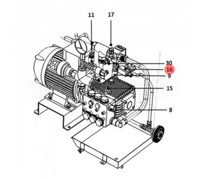 CAREL UAKCV0DR00 Сливной электромагнитный клапан CAREL для водопровода внутри шкафа