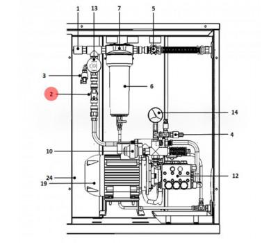 CAREL ECKFSV0000 Клапан питающий CAREL