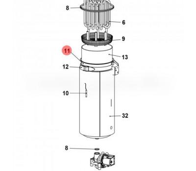CAREL URKB100020 Цилиндр стальной CAREL для UR 2-13 кг/ч