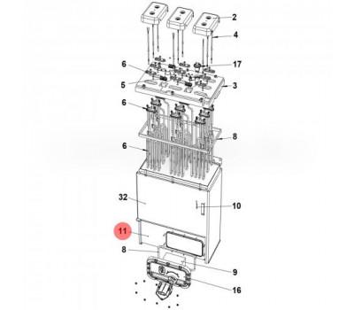 CAREL URKB600020 Цилиндр стальной CAREL для UR 53-80 кг/ч