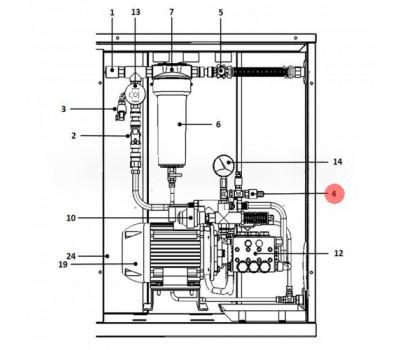 CAREL UAKPSHP000 Регулятор давления CAREL