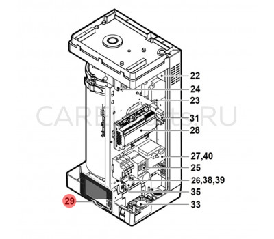 CAREL HCTXRCFP00 Дисплей сенсорный CAREL (pGDX) для UR*4 2-13 кг/ч