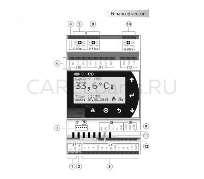 CAREL P+D000BE1DEF0 Контроллер CAREL c.pCO mini типоразмер Enhanced
