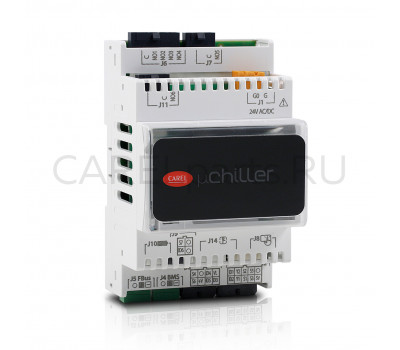 CAREL UCHBDE0001140 Контроллер CAREL mChiller Enhanced, монтаж на din-рейку