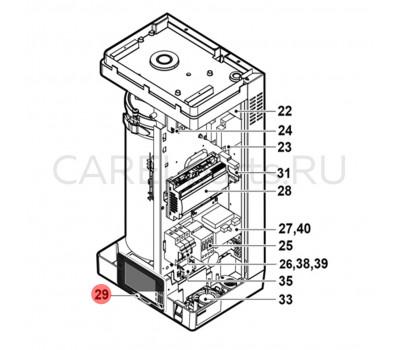 CAREL HCT1RHW000 Дисплей CAREL для UR