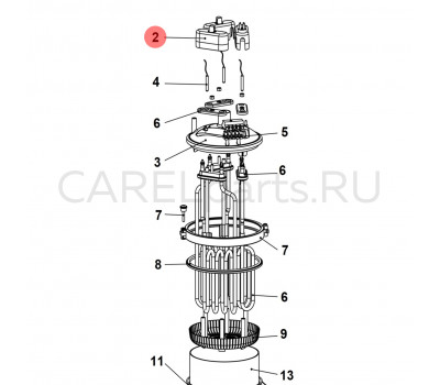 URKCR00020 Защитная крышка контактов питания CAREL