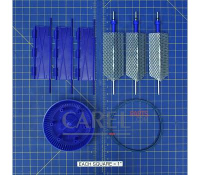 CAREL KITBLCT2D0 Комплект электродов CAREL 5-8 кг/ч