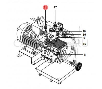 CAREL UAKTRAS05V Датчик давления CAREL