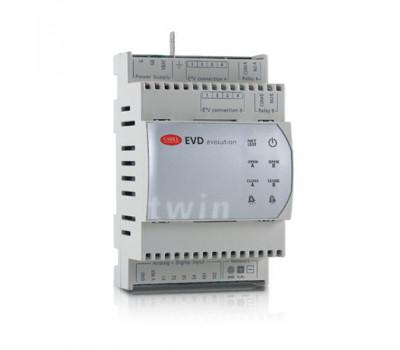 EVD0000T11 Драйвер CAREL EVD Evolution универсальный, для 2-х ТРВ, pLAN протокол, уп. 10 шт